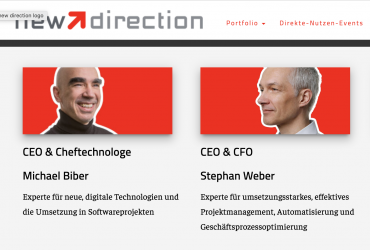 EVENTKONZEPTION ZUR NEUKUNDENGEWINNUNG – new direction GmbH