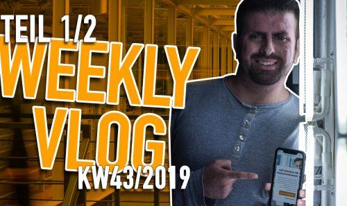 KW 43 Video Logbuch – EVENTPLANUNG – Wie läuft so etwas ab? Teil 1