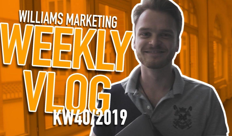 KW 40 Video Logbuch – Rebranding & neue Website